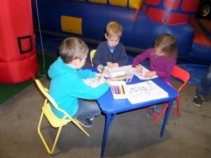 Kinderknutselhoek Durady Groep