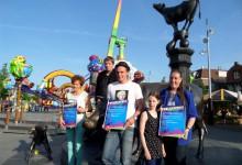 Kinder Octopussy  Publieksprijs Kindervermaak Kermis Purmerend 2014