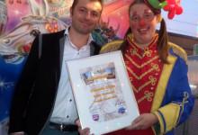 Kinderoctopussy tweede prijs klein vermaak Weerter kermis 2015