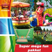 Super mega fun pakket van € 925,- voor € 825,-